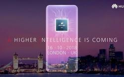 Thư mời sự kiện Huawei Mate 20 tiết lộ thiết kế cụm camera hình vuông, tập trung vào các tính năng AI