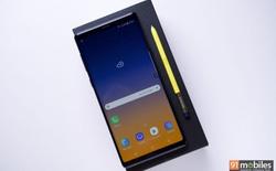 Samsung Galaxy Note9 đạt 103 điểm trong bài kiểm tra camera của DxOMark, khả năng chụp ảnh tĩnh đạt tới 107 điểm