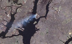 Những hình ảnh từ vệ tinh NASA về cuộc tấn công 11/9
