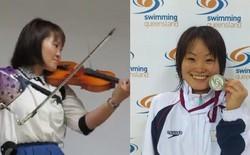 Ngả mũ thán phục trước nữ VĐV khuyết tật Nhật chơi đàn violon bằng cánh tay giả