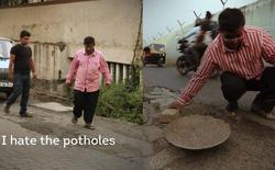 Ông bố Ấn Độ nguyện lấp mọi ổ gà mình nhìn thấy ở Mumbai sau khi con trai qua đời vì tai nạn giao thông