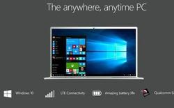 Snapdragon 1000: 8,5 tỷ bóng bán dẫn để có thể chạy Windows 10 trên PC