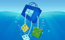 Microsoft vô tình tiết lộ mức độ nghiêm trọng trong thất bại của Windows Store