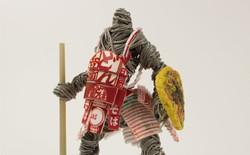 Thích thú với mô hình chiến binh được người nghệ sĩ Nhật Bản tạo nên từ mỳ ăn liền