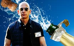 Amazon chính thức chạm mốc giá trị vốn hóa 1.000 tỷ USD