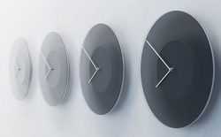 Phong cách sống tối giản lên ngôi, bạn có muốn sở hữu 1 chiếc đồng hồ đổi màu theo thời gian vô cùng thỏa mãn thị giác này không?
