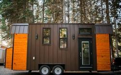 Ngôi nhà xe siêu nhỏ, dài chỉ 7 mét, diện tích 24m2, có thể giữ ấm cả trong mùa đông khắc nghiệt nhất