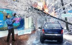 Kênh Weather Channel mang cả công nghệ thực tế ảo vào bản tin thời tiết để mô phỏng thảm họa thêm sinh động
