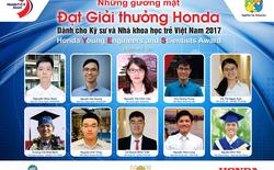 Điểm danh 10 gương mặt Kỹ sư và Nhà khoa học trẻ 2017