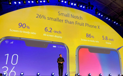 """[MWC 2018] Khi cả làng điện thoại di động đua nhau làm """"tai thỏ"""" cho giống iPhone X"""