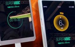 Oppo Find 9 sẽ trang bị công nghệ Super VOOC, sạc đầy viên pin 2500 mAh chỉ trong 15 phút