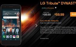 LG Tribute Dynasty chính thức trình làng, chip 8 nhân, giá 100 USD
