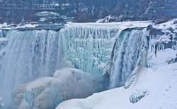 [Ảnh] Khung cảnh thác Niagara đóng băng trong đợt rét kỷ lục của nước Mỹ