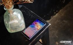 Mở hộp Galaxy A8 (2018) chính hãng giá 10,99 triệu đồng: màu Tím Bạc cực đẹp!