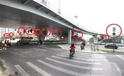 Trung Quốc: Người dân hoang mang vì ngã tư này có tới... 37 cột đèn giao thông
