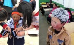 Ngôi trường của cậu bé tóc đóng băng vẫn miệt mài đi học nhận được khoản quyên góp 100.000 tệ để mua quần áo ấm cho học sinh