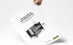 Quảng cáo in mới nhất của IKEA: Hãy tè lên để được giảm giá!