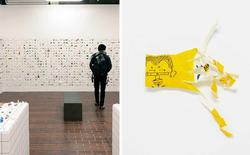 Anh bồi bàn Nhật Bản mở triển lãm Origami nhờ thu nhặt 13.000 vỏ đũa dùng một lần