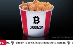KFC Canada cho phép khách hàng mua gà rán bằng... Bitcoin
