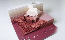 Tệp giấy nhớ siêu đặc biệt của Nhật Bản: Xé thì phí 2 triệu, không xé thì bỏ lỡ cả tác phẩm nghệ thuật