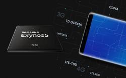Samsung chính thức trình làng chip Exynos 7872, 6 lõi xử lý, hỗ trợ cảm biến mống mắt