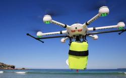 Trong ngày đầu triển khai, drone cứu hộ đã tiếp cận và cứu 2 người khỏi chết đuối trong chưa đầy 70 giây