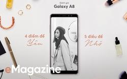Đánh giá Galaxy A8: 4 điểm để yêu, 5 điều để nhớ