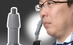 Chiêm ngưỡng máy tỉa lông mũi gắn smartphone giá 300.000 đồng của Nhật