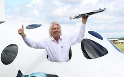Tỷ phú Richard Branson tuyên bố Virgin Galactic sẽ đưa con người vào vũ trụ ngay trước Giáng sinh năm nay