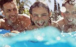 Vì sức khỏe của mọi người, đừng bao giờ đi bơi khi bạn có triệu chứng tiêu chảy