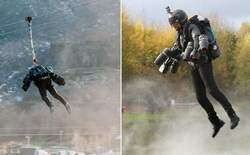 Bộ giáp Iron Man đời thực lập kỷ lục bay trên đường trượt zipline dài nhất Châu Âu