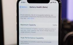 iOS 11.3 Beta 2 đã cho phép xem tình trạng pin, tắt tính năng làm chậm iPhone