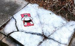Mãn nhãn với các tác phẩm nghệ thuật đường phố được tạo nên bằng trí tưởng tượng và góc quan sát phi thường
