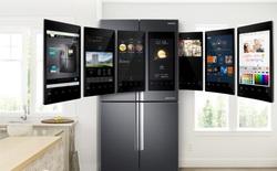 [CES 2018] Samsung giới thiệu mẫu tủ lạnh thông minh tích hợp loa AKG và trợ lý ảo Bixby