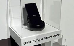 Samsung ra mắt nguyên mẫu smartphone 5G đầu tiên của mình tại CES 2019, nhưng hầu như không ai để ý