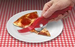 Internet cười ra nước mắt với cái dĩa kiêm dao cắt bánh pizza đang thu hút 2.000 USD trên Kickstarter
