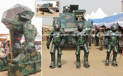 Ghana ra mắt một loạt nguyên mẫu thiết bị quân sự kỳ lạ, từ xe tăng đi bộ cho tới khung xương trợ lực