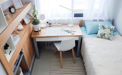 Màn cải tạo ký túc xá đỉnh cao từ ổ chuột thành phòng khách sạn với phong cách tối giản tuyệt đối