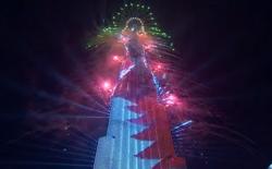 Xem người dân Dubai đón Năm mới 2019 với pháo hoa và màn hình LED khổng lồ gắn trên tòa nhà cao nhất thế giới