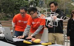 DJI hợp tác Microsoft tạo ra AI drone có thể nhận diện hoa quả và nhiều thứ khác nữa