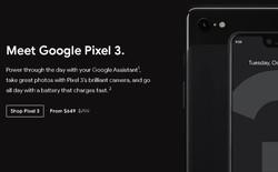 Google giảm giá gần 3,5 triệu đồng cho Pixel 3 và Pixel 3 XL trên Google Store