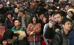 """Trung Quốc bắt đầu cuộc """"xuân vận"""": Ước tính có 3 tỷ chuyến đi trong vòng 40 ngày tới để về nhà ăn Tết"""