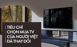 Tiêu chí chọn mua TV của người Việt đã thay đổi