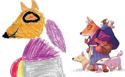 [Ảnh] Khi trí tưởng tượng của trẻ em được chắp cánh bởi ngòi bút của họa sĩ chuyên nghiệp