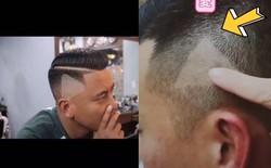 """Góc oái oăm: Chụp màn hình ẩu đưa thợ cắt tóc, anh chàng Trung Quốc được luôn nút """"play"""" trên đầu"""