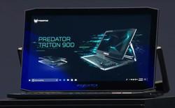 [CES 2019] Acer ra mắt laptop gaming 2-in-1 Predator Triton 900 với màn hình 17 inch 4K lật như gương, trang bị RTX 2080, giá bán từ 4.000 USD