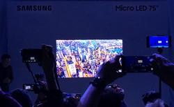"""Samsung """"chơi lớn"""" tại CES 2019 bằng hàng loạt sản phẩm kích cỡ vĩ đại"""