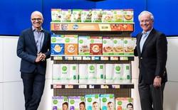 Microsoft hợp tác cùng chuỗi cửa hàng tạp hóa lớn nhất nước Mỹ để đấu Amazon