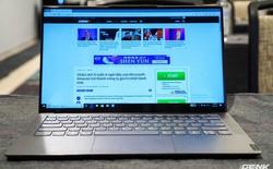 [CES 2019]: Lenovo S940, laptop thứ hai dùng tai thỏ ngược để đặt webcam, trang bị cả kính cong như smartphone