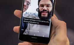 Video thực tế về tính năng Live Caption của Android 10, sẽ xuất hiện đầu tiên trên Pixel 4